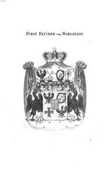 Coat of Arms of Count Blücher, Prince of Wahlstatt