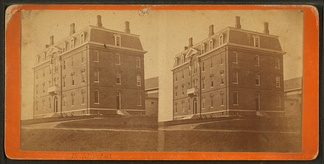 Brick Hall (1871), later renamed Oak Hall, burned in 1936