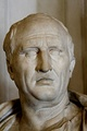 Cicero, Roman orator and lawyer who served as consul and exposed the Second Catilinarian conspiracy. One of the greatest Latin philosophers along with Lucretius and Seneca.