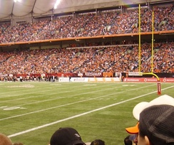 The 2006 West Division Final at BC Place