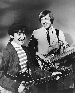 Davy Jones and Peter Tork in 1966