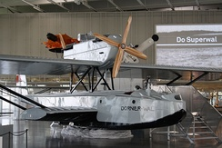 Reconstructed Dornier Wal N25 in the Dornier Museum Friedrichshafen