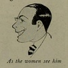 Caricatures of Valentino by Dick Dorgan, 1922