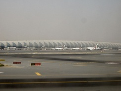 Terminal 3 of the Dubai International Airport