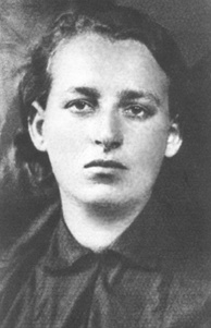 Frumka Płotnicka who fought in the Warsaw Ghetto Uprising at age 29, led the uprising in the Będzin Ghetto during Operation Reinhard