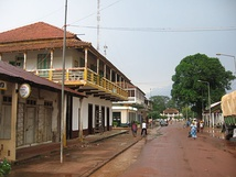 Guinea-Bissau's second largest city, Gabú