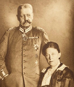 Paul and Gertrud von Hindenburg