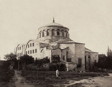 The Church of Hagia Irene, was the cathedral church of the Patriarchate before Hagia Sophia was completed in 360