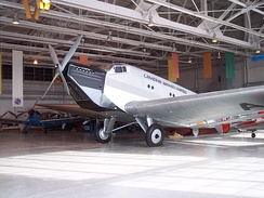 "Ju 52/1m replica (converted from 52/3m) of ""CF-ARM"" at the Royal Aviation Museum of Western Canada, Winnipeg, Manitoba, Canada"