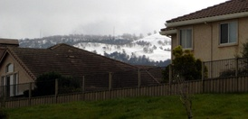 On March 10, 2006, a record-breaking storm covered many of the nearby mountaintops in a white blanket of snow. Snow in the city of Salinas is extremely rare.