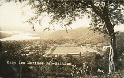 Marine's base at Cap-Haïtien