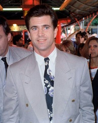 Mel Gibson in 1990 at an Air America premiere.