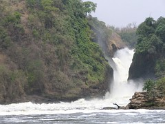 Murchison Falls in Uganda, between Lake Victoria and Lake Kyoga
