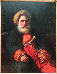 Portrait of the Katchef Dahouth, Christian Mameluke, 1804, Art Institute of Chicago