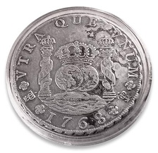 Spanish silver real or peso of 1768
