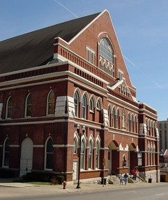 "Ryman Auditorium, the ""Mother Church of Country Music"""