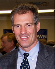 Scott Brown, the first Massachusetts Republican elected to the Senate since 1972