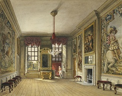 Charles Wild (1816) St James's Palace, Queen's Levee Room