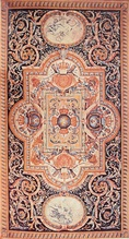 French Savonnerie carpet (after Charles Le Brun) for the Grand Gallery of the Louvre