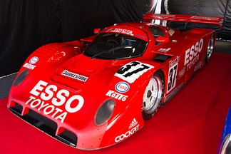 Elgh's Toyota 91C-V from 1991, being displayed FIA World Endurance Championship 2012 Rd.7 6 Hours of Fuji