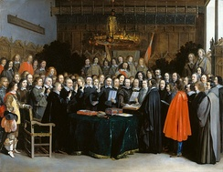 Swearing of the Peace of Münster by Gerard ter Borch