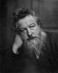 William Morris, the main influence on the Arts and Crafts Movement
