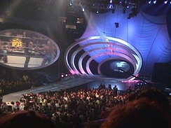 The set used from the show's debut from August 26, 1999, until August 9, 2001