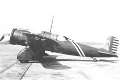 Curtiss A-12 Shrike of the 13th Attack Squadron, 3d AG, Barksdale Field, Louisiana