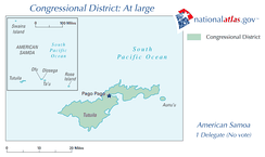 American Samoa's At-large congressional district