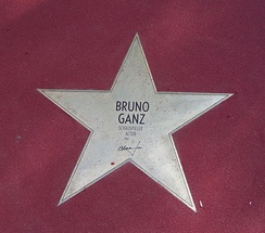 Star on the Boulevard of the Stars in Berlin