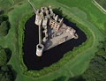 Caerlaverock Castle, a 13th-century castle in southern Scotland