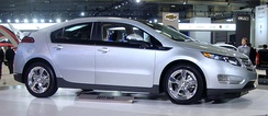 First production vehicle, the 2011 Chevrolet Volt