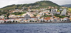 Horta, on Faial Island, is the legislative capital of the Azores.