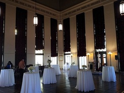 The Tom Bradley Room, making up the whole interior of L.A. City Hall's 27th floor.