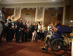 Senate Diversity Initiative in support of diversity in the Senate and its staff, June 21, 2017