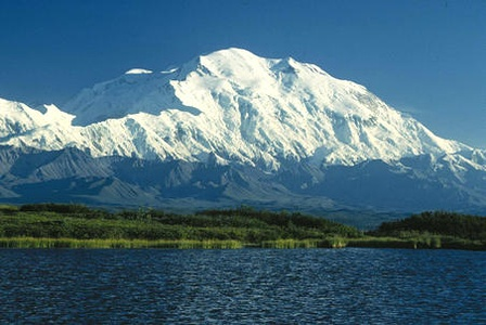 Denali in Alaska is the highest summit of the United States and all of North America.