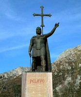 Pelagius, first king of Asturias