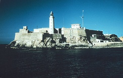 The Lighthouse and the Castle of Tres Reyes del Morro, have become symbols of Havana.
