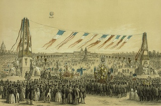 Illustration of Fête de la Concorde, May 21, 1848.