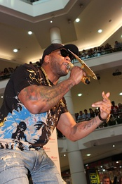 While hip hop music sales dropped a great deal in the mid-2000s (decade), rappers like Flo Rida were successful online and with singles, despite low album sales.