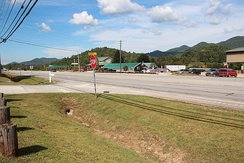 US Route 23 in Rabun County