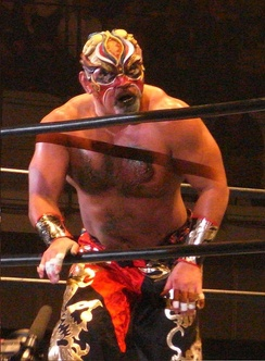 Mutoh as The Great Muta in November 2009
