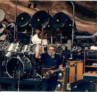 Jerry Garcia playing Tiger in 1987