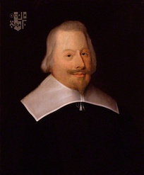 John Pym, leader of the English Parliamentary opposition; defeat forced Charles to recall Parliament in November 1640