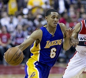 Jordan Clarkson was selected 46th overall by the Washington Wizards (traded to the Los Angeles Lakers).
