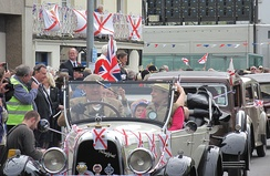 Liberation Day celebrations in Jersey, 9 May 2012