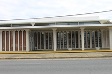The main branch of the Rapides Parish Library is located in downtown Alexandria.