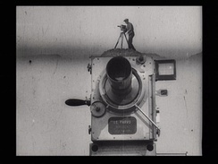 Dziga Vertov, Man with a Movie Camera, Opening shot, 1929