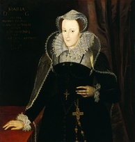 Mary, Queen of Scots, who conspired with English nobles to take the English throne for herself