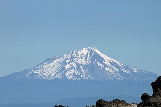 Mount Shasta is a prominent landmark among the Siskiyou Mountains and has cultural significance for the Shasta.
